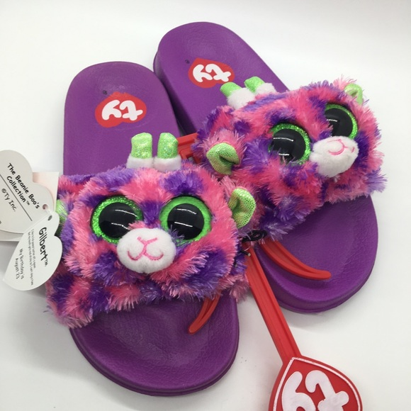 TY Beanie Boo Slippers - Gilbert 07dd250bed77